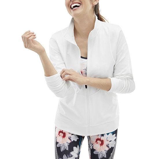Xersion Womens Long Sleeve Full Zip Jacket