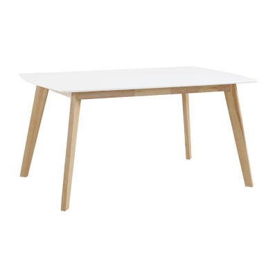 """60"""" Retro Modern Wood Kitchen Dining Table"""