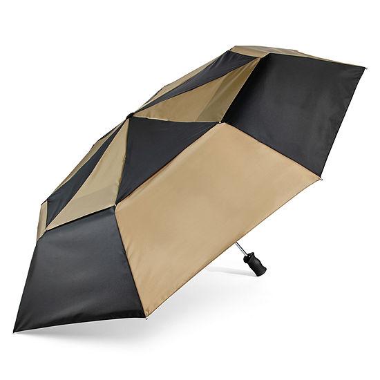 totes® Auto Open Close Vented Canopy Umbrella