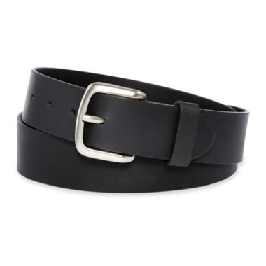 Dickies® Black Leather Belt