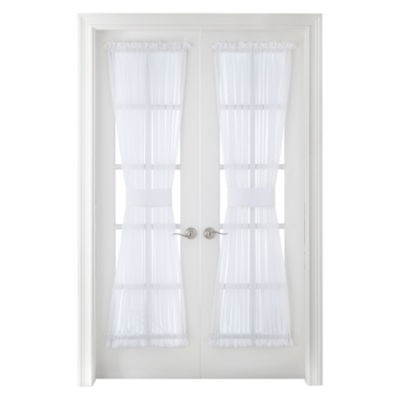 Liz Claiborne® Lisette Rod Pocket Sheer Door Panel