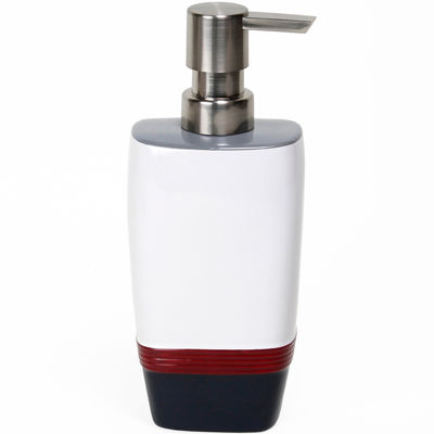 Saturday Knight Evan Stripe Soap Dispenser