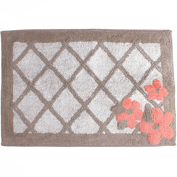 Saturday Knight Coral Garden Bath Rug