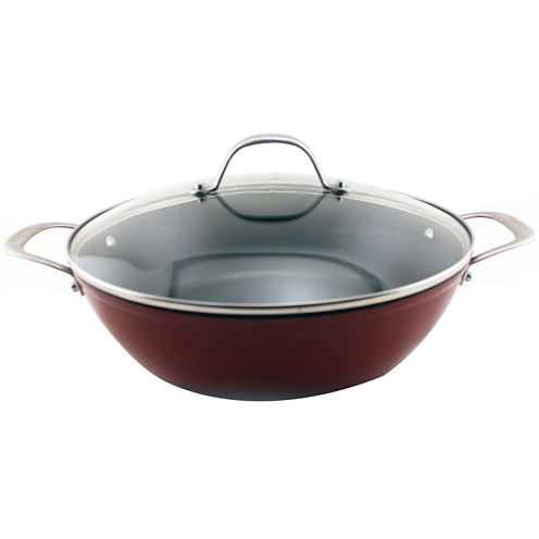 "BergHOFF® 11.75"" Light Cast Iron Braiser"
