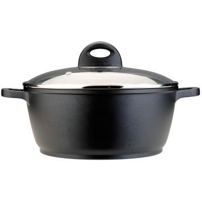 """BergHOFF® CooknCo 11"""" Cast Aluminum Nonstick Stockpot"""