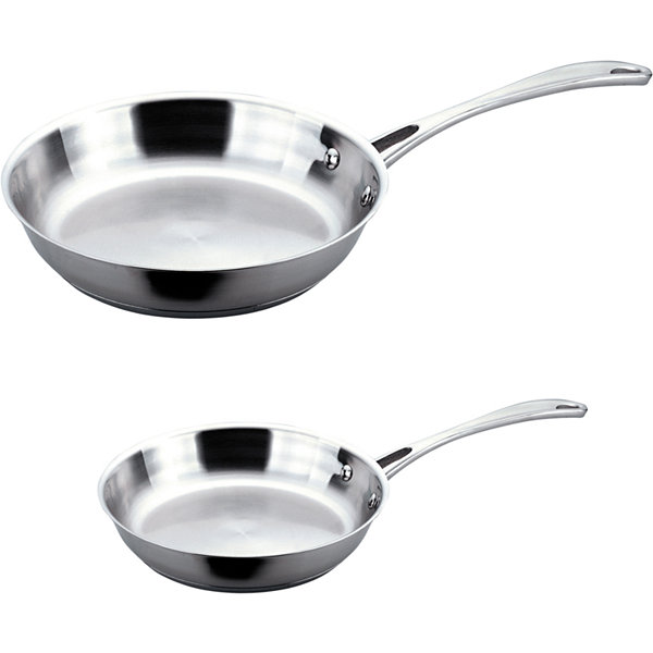 BergHOFF® 2-pc. Copper Clad Stainless Steel Fry Pan Set