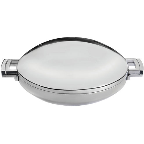"""BergHOFF® Neo 14"""" Stainless Steel Covered Wok"""