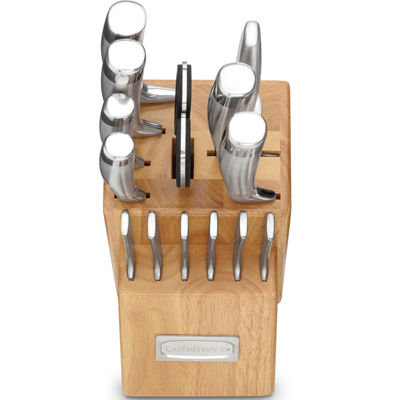 Cuisinart® Professional 15-pc. Stainless Steel Cutlery Block Set