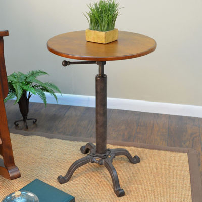 Colton Vintage Adjustable Accent Table