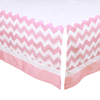 The Peanut Shell Peanut Shell Mix And Match 4-pc. Geometric Crib Bedding Set