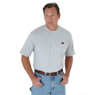 Wrangler Riggs Pocket Short Sleeve Crew Neck T-Shirt