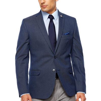 Slim Fit Woven Sport Coat Slim