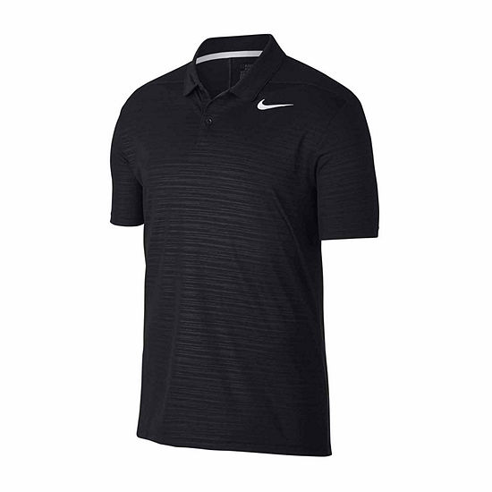 Nike Essential Short Sleeve Essential Embossed Dri-Fit Polo Shirt