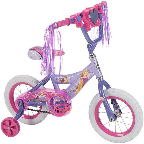 Huffy Disney Princess 12In Bike with Handlebar Magic Mirror