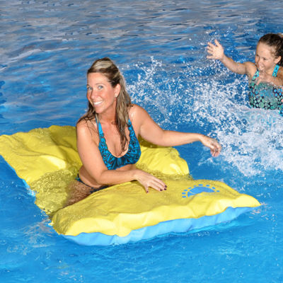 Blue Wave Santa María Unsinkable 70-in Floating Pool Mattress
