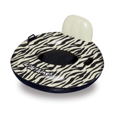 Swimline Wildthings™ 40-in Zebra Inflatable PoolFloat