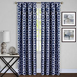 Tara Room Darkening Rod-Pocket Single Curtain Panel