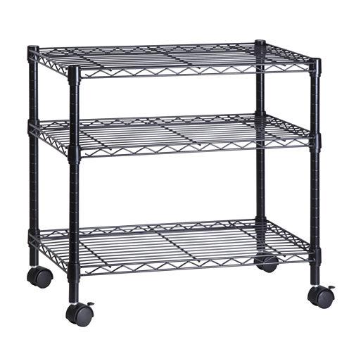 Honey-Can-Do® 3-Shelf Steel Cart