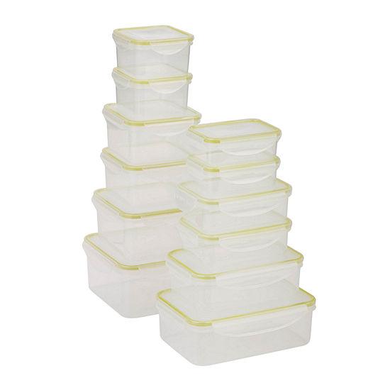 Honey-Can-Do® Snap-Tab 12-pc. Food Storage Set