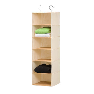 Honey-Can-Do® 6-Shelf Bamboo Hanging Organizer