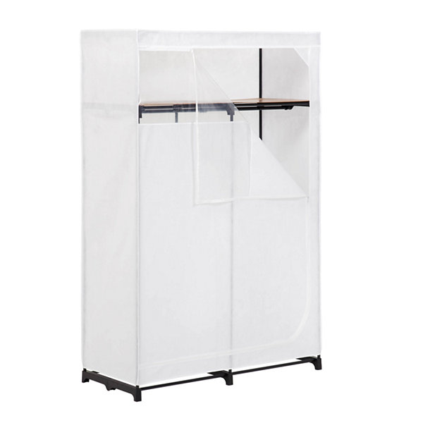 "Honey-Can-Do® 46"" Wide Cloth Wardrobe Storage Closet"