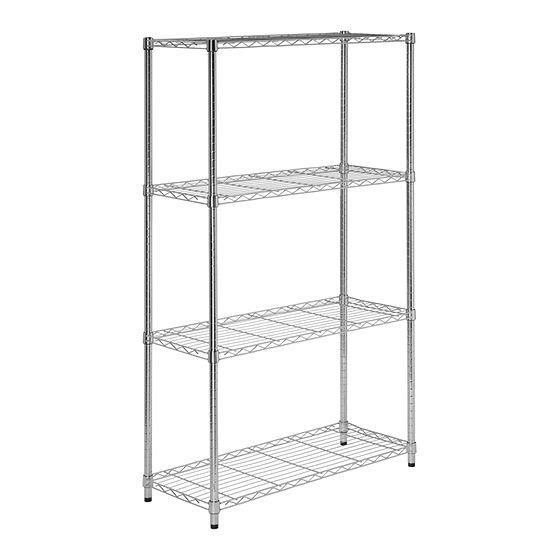 Honey-Can-Do® 4-Tier Commercial Grade Adjustable Storage Shelves