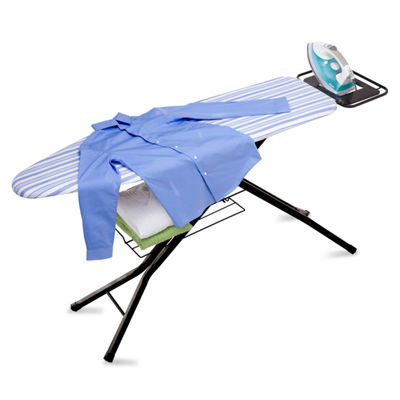 Honey-Can-Do® Adjustable Deluxe Ironing Board with Iron Rest