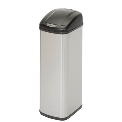 Honey-Can-Do® 52-Liter Motion Sensor Stainless Steel Trash Can