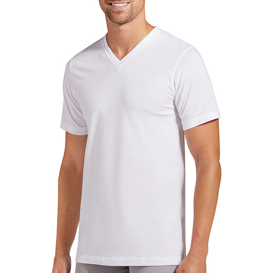 Jockey® 3 Pack Slim Fit V-Neck T-Shirt - Men's