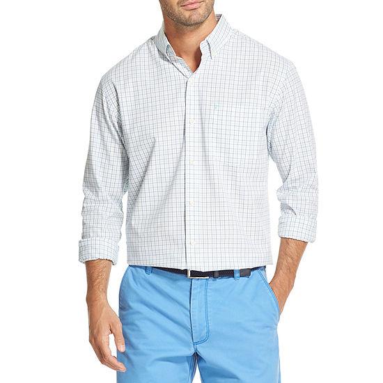 IZOD Premium Essentials Mens Long Sleeve Button-Down Shirt