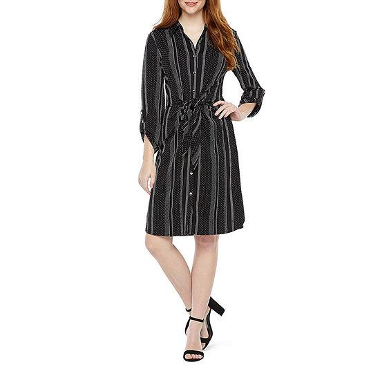 Soho Long Sleeve Shift Dress