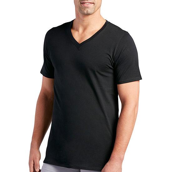 Jockey® 3 Pair Staycool+® V-Neck T-Shirt - Men's