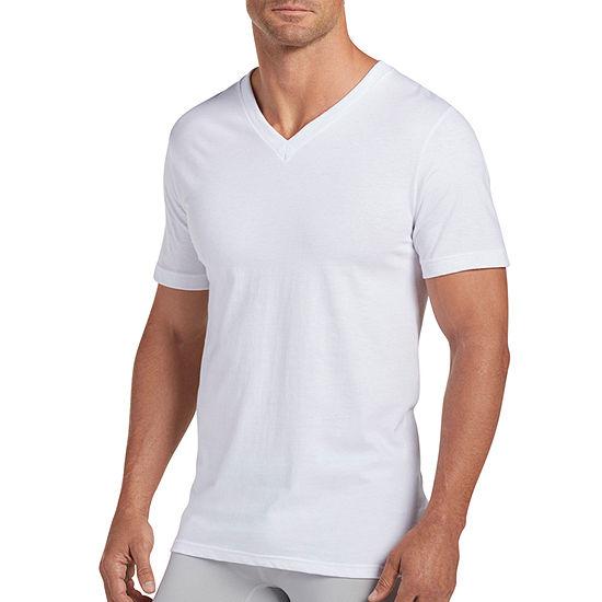 Jockey® 3 + 1 Bonus Pair Classic V-Neck T-Shirt - Men's