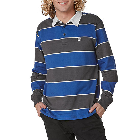 Vans Mens Long Sleeve Rugby Shirt