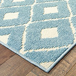 Covington Home Bardot Diamonds Rectangular Indoor/Outdoor Rugs