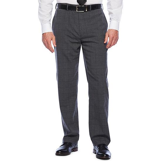 Liz Claiborne Checked Classic Fit Suit Pants