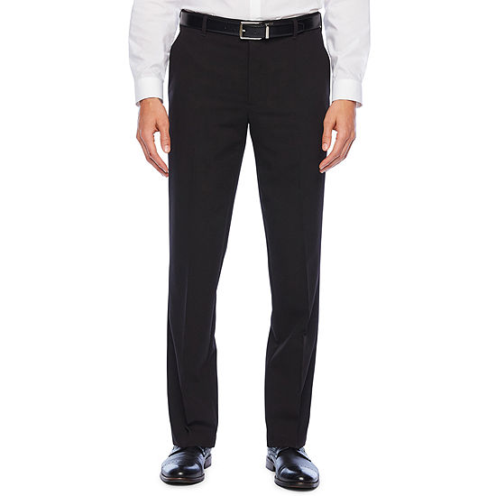 Van Heusen Eventemp Dress Pant Mens Mid Rise Straight Fit Flat Front Pant