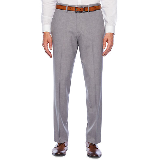 JF J.Ferrar 360 Stretch Slim Fit Flat Front Pant