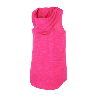 adidas Girls Hooded Neck Tank Top - Big Kid