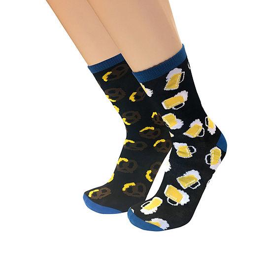 Novelty 1 Pair Odd Couple Crew Socks