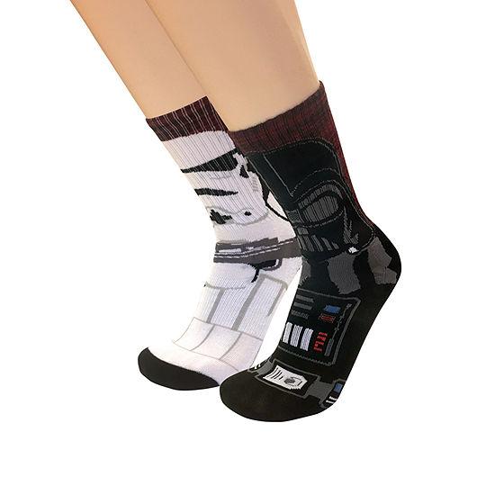 1 Pair Star Wars Crew Socks-Mens