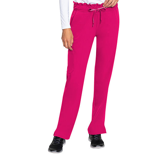 Med Couture Peaches 8757 Womens Scrub Pants-Petite