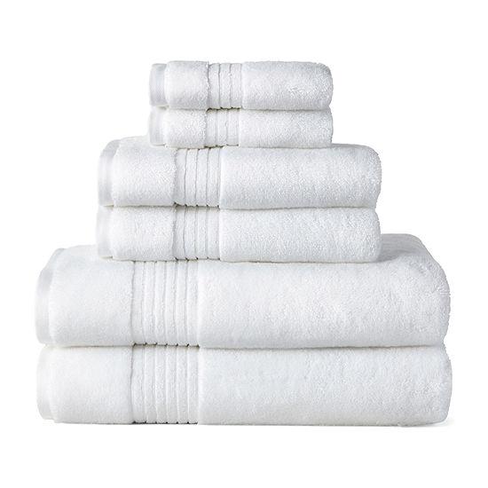 Liz Claiborne Signature Plush 6pc Towel Set