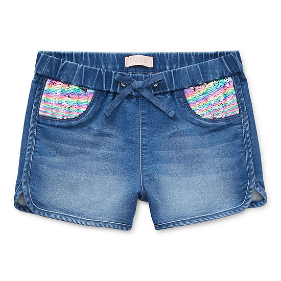 Squeeze Girls Mid Rise Shortie Short
