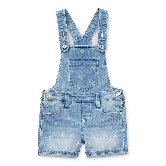 Squeeze Little Girls Shortalls