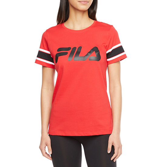 Fila Spirited Tee Womens Crew Neck Short Sleeve T-Shirt