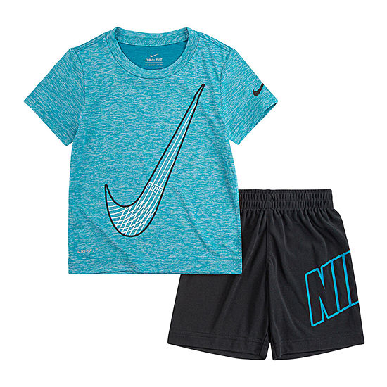 Nike Little Boys 2-pc. Short Set