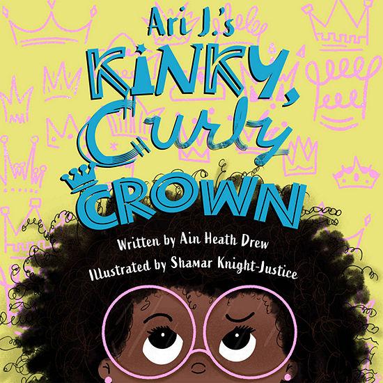 Urban Hydration  Ari Js Kinky Curl Crown Reading Book