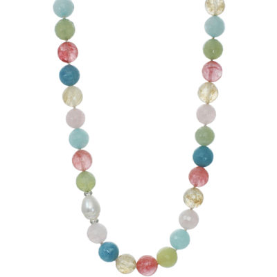 ROX by Alexa Multi-Gemstone Beaded Necklace