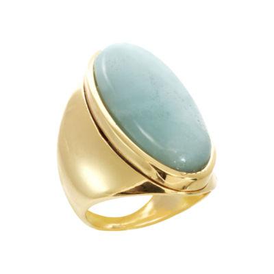 ROX by Alexa Large Blue Amozonite Ring